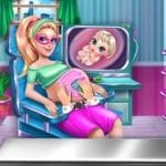 Super Doll Pregnant Check Up